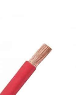 Cable Unifilar 6 mm2 SOLAR PV ZZ-F Rojo