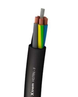 Cable Vulcanizado Sumergido 750V XTREM H07RN-F 3G 2.5
