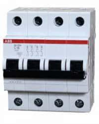 Termomagnético 63A SH204-C63 ABB Trifásico