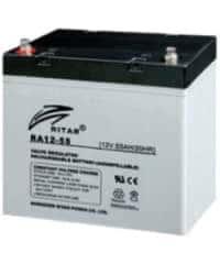 Batería RITAR 12V 55Ah RA AGM