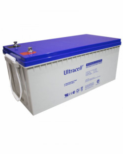 Batería GEL 12V 230Ah Ultracell UCG-230-12