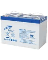 Batería RITAR 12V 75Ah DG GEL
