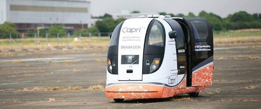 En Reino Unido ya existe un transporte público de conducción autónoma