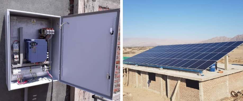 Instalación Bombeo Solar Directo 110.500Wh/día en Ica