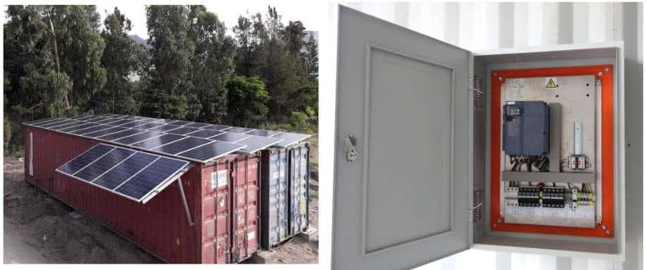 Instalación de Sistema Bombeo Solar Directo en Huacho 54.000Wh/día