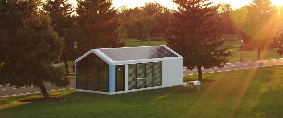 Casas solares autosuficientes hechas con impresión 3D