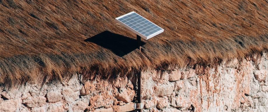 Paneles Solares para comunidades campesinas