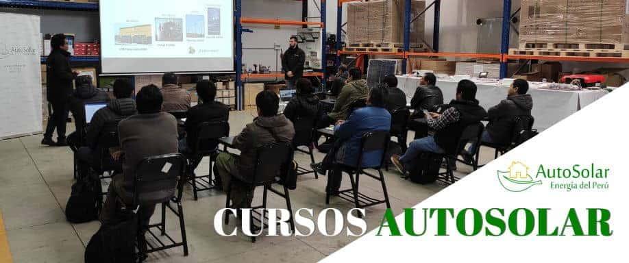 Curso Sistemas Fotovoltaicos de Bombeo de Agua en El Perú