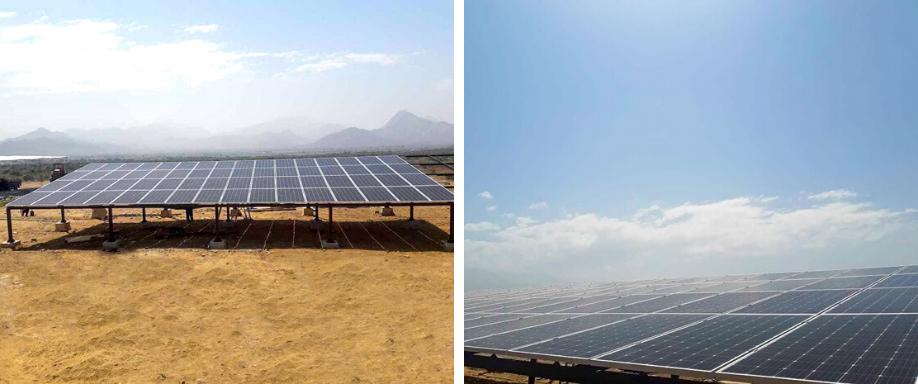 Instalación sistema bombeo solar Chiclayo
