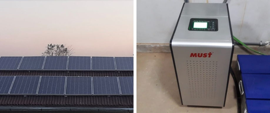 Instalación Sistema Aislada 22.200Wh/día en Pucallpa