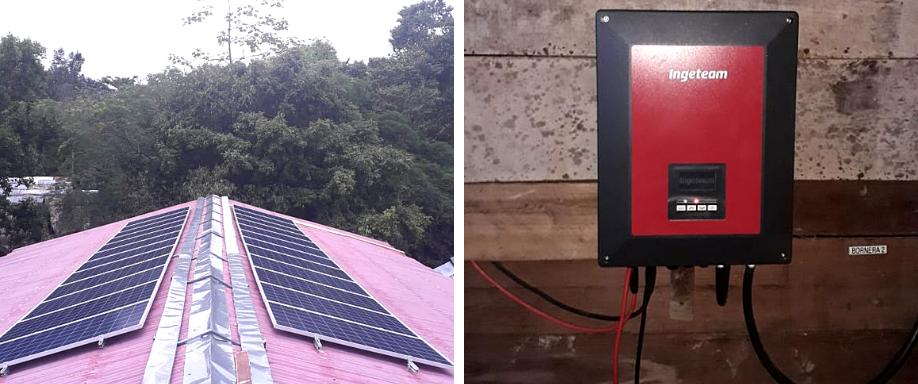 Instalación en Iquitos de Kit Solar de Aislada 39.000Wh/día