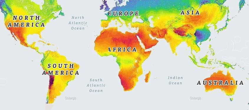 Perú: radiación solar más alta de todo el planeta