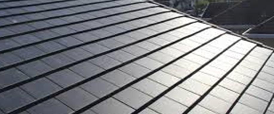 Tejas solares para salir de la banca rota