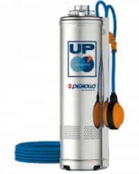 Electrobomba sumergida Pedrollo UPm 4/3 1.5HP Monofásica Con Flotador
