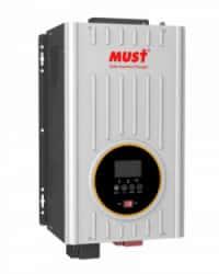 Inversor Cargador 1000W 24V MPPT 80A Must Solar