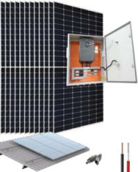 Kit Bombeo Solar 220V hasta 3HP INVT