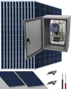 Kit Bombeo Solar 400V hasta 12.5HP Fuji