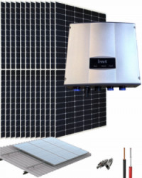 Kit Bombeo Solar 400V hasta 3HP INVT