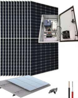 Kit Bombeo Solar 400V hasta 7.5HP Fuji