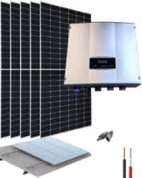 Kit Bombeo Solar hasta 1HP 230V uso directo