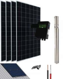 Kit Bombeo Solar SK 1.5HP 35l-min a 60m