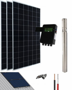 Kit Bombeo Solar SK 1HP 45l-min a 40m