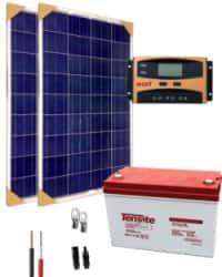Kit Panel Solar 12V 1000Whdia