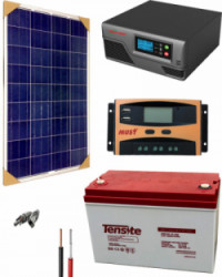 Kit Panel Solar 300W 12V 500Whdia