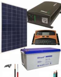 Kit Panel Solar 700W 12V 1000Whdia