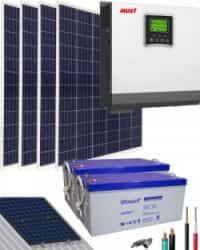 Kit Solar Aislada 3000W 24V 4800Whdia
