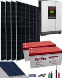 Kit Solar Aislada 3000W 24V 8000Whdia