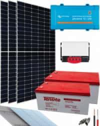 Kit Solar Cámaras 250VA 24V 6800Whdia