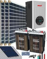 Kit Solar Casa Campo 1500W 12V 3000Whdia