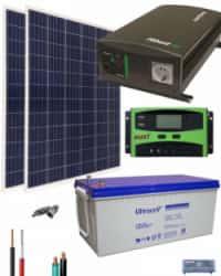 Kit Solar Casa Campo 700W 12V 2000Whdia
