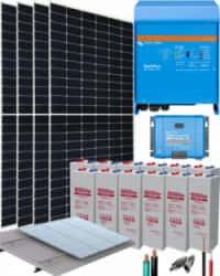 Kit Solar Fotovoltaico 3000W 24V 10200Whdia