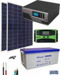 Kit Solar Fotovoltaico 800W 12V 2000Whdia