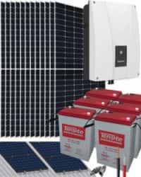 Kit Solar Fotovoltaico Aislada 6000W 108V 36400Whdia
