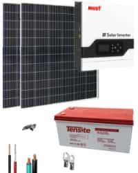 Kit Solar Gel 1000W 12V 2000Whdia