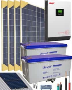 Kit Solar Gel 24V 6400Whdia