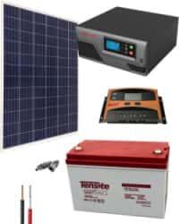 Kit Solar Iluminación 300W 12V 1000Whdia