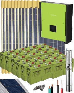 Kit Solar Trifásico 10000W 48V 54400Whdia
