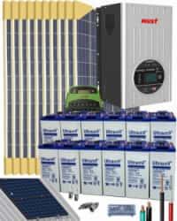 Kit Solar Vivienda Permanente 5000W 24V 20800Whdia