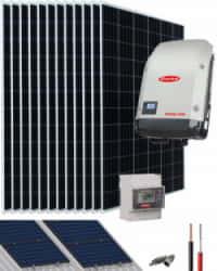 Kit Solar Conectado Red 10000W 50000Whdia Trifásico