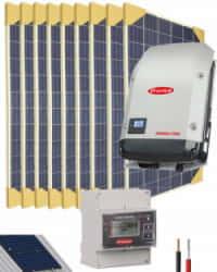 Kit Solar Conectado Red 10000W 51200Whdia Trifásico