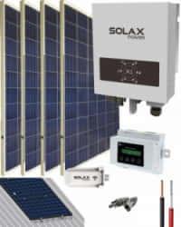Kit Solar Conectado Red 1100VA 5400Whdia SolaX