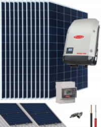 Kit Solar Conectado Red 15000W 76500Whdia Trifásico