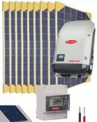 Kit Solar Conectado Red 15000W 76800Whdia Trifásico