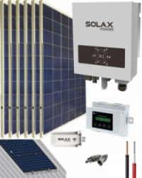 Kit Solar Conectado Red 1500VA 8100Whdia SolaX