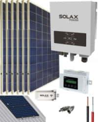 Kit Solar Conectado Red 1500W 8100Whdia SolaX