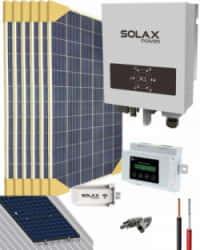 Kit Solar Conectado Red 2000VA 9600Whdia SolaX